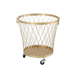 danish design laundry hamper iron storage