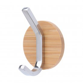 Self-Adhesive Hook Bamboo Stainless Steel